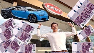 Download TRYING TO BUY A BUGATTI CHIRON IN CASH! Video