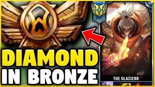Download I TOOK MY JAX INTO BRONZE FOR THE FIRST TIME EVER! DIAMOND JAX VS BRONZE ELO! - League of Legends Video