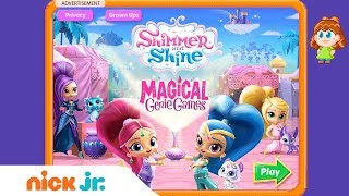 Download Shimmer and Shine: 'Magical Genie Games' Game Walkthrough | Nick Jr. Games (AD) Video
