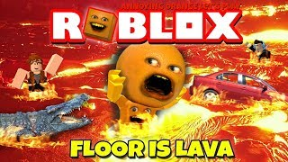 Download Annoying Orange Plays - Roblox: The Floor Is Lava! Video