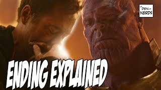 Download Infinity War Ending Explained | Captain Marvel in Avengers 4 Video