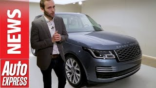 Download Updated Range Rover - luxury SUV gains 101mpg hybrid option Video