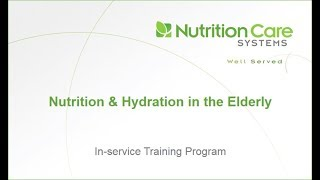 Download Nutrition and Hydration in the Elderly Video