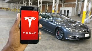 Download Tesla Model S P100D: The App! Video