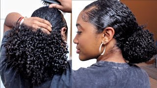 Download Vacation Wash Routine + EASY Protective Style!| Healthy Natural Hair Video