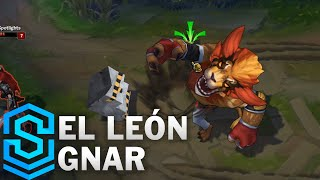 Download El Leon Gnar Skin Spotlight - Pre-Release - League of Legends Video