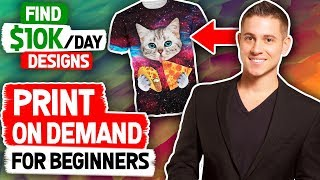 Download Shopify Print On Demand For Beginners | How to Find $10k Designs (HACKS) Video