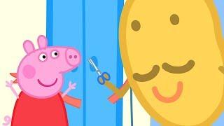 Download Peppa Pig Świnka Peppa po Polsku   Pan Ziemniak przybywa do miasta!   Bajki Po Polsku Video