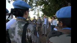 Download UNIFIL female peacekeepers join military officers from region in protecting cultural heritage Video