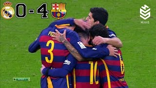 Download Real Madrid vs Barcelona 0-4 ● All Goals and Full Highlights ● English Commentary ● 21-11-2015 HD Video