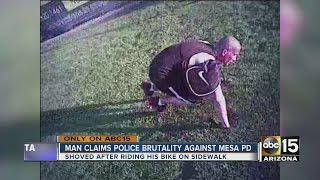 Download Mesa man claims police brutality, files lawsuit against city Video