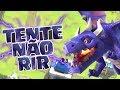 Download OLHA O MONSTRO DE ELIXIR SAINDO DA JAULA!|TENTE NÃO RIR|MOMENTOS MAIS ENGRAÇADOS DO CLASH ROYALE #9 Video