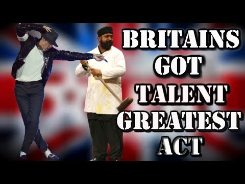 Britains Got Talent - MICHAEL JACKSON (SIGNATURE - ALL performances)