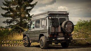 Download Mercedes Benz G Klasse - 4x4CAMP expedition camper greywolf interieur Video