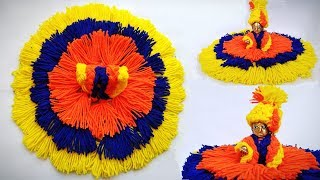 Download Very Easy Winter/woolen dress for laddu gopal without knitting/bunai step by step Video