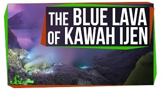Download Weird Places: The Glowing Blue Lava at Kawah Ijen Video