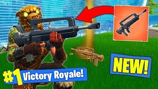 Download *NEW* LEGENDARY BURST RIFLE GAMEPLAY In Fortnite Battle Royale! Video