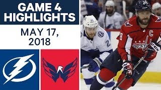 Download NHL Highlights | Lightning vs. Capitals, Game 4 - May 17, 2018 Video
