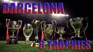 Download Barcelona 6 of 6 trophies. 2009 year. || Барселона 6 из 6 трофеев. 2009 год. Video