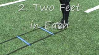 Download Speed Agility Ladder Drills Exercises for Football Soccer Quick Feet Video
