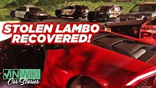 Download VINwiki found another stolen Lambo! Video