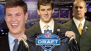 Download Eli Almost a Brown, Big Ben Falling, & Rivers Traded All Part of Dramatic 2004 Draft Day | NFL Films Video