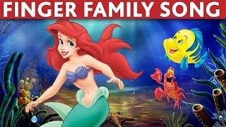 Download FINGER FAMILY SONG LITTLE MERMAID ARIEL DADDY FINGER SONG Video