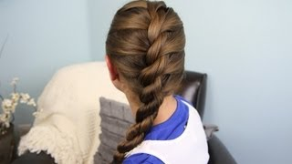 Download French Twist into Rope Braid | Back-to-School | Cute Girls Hairstyles Video