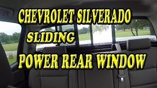 Download CHEVROLET SLIDING REAR POWER WINDOW OPERATION Video