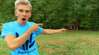Download FOUND GAME MASTER LIVING IN OUR BACKYARD!! (exploring abandoned woods) Video