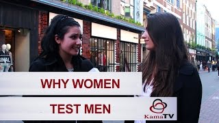 Download Why women test men? Video