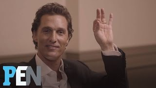 Download Matthew McConaughey Reveals Which Female Costars He Had A Crush On | PEN | Entertainment Weekly Video