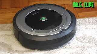 Download iROBOT Roomba 690 Vacuuming Robot with WiFi! Video
