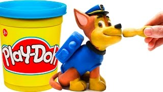 Download Paw Patrol Chase Stop Motion Play Doh claymation plastilina playdo Patrulla canina de cachorros Video