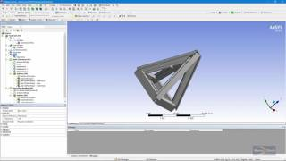 Download How to change BEAM188 Line Bodies into LINK180 Elements in ANSYS Mechanical Workbench Video