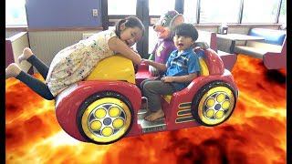 Download The Floor is Lava Challenge and Family Fun Time at Chuck E Cheese Video