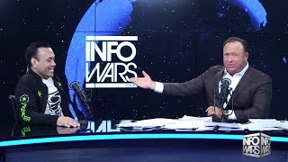 Download Eddie Bravo on Infowars - talks Joe Rogan, Fake Dinosaurs, #Pizzagate and More Video