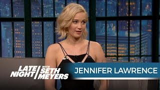 Download Jennifer Lawrence Wanted Seth to Ask Her Out When She Hosted SNL - Late Night with Seth Meyers Video