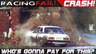 Download WHO'S GONNA PAY FOR THIS CRASH? Rally Cars vs Houses... | RACINGFAIL Video