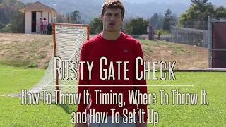 Download Lacrosse Skool - Kyle Hartzell Teaches Us The Rusty Gate Check Video