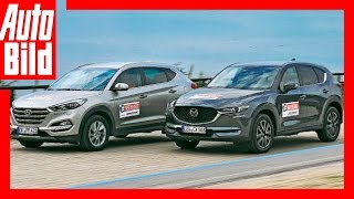 Download Neuer Mazda CX-5 vs Hyundai Tucson (2017) Test/Review/Fahbericht/Neu Video
