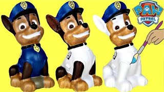 Download D.I.Y Paw Patrol Chase Do it Yourself Coin Bank Painting, Fun Kid Craft Coloring / TUYC Video