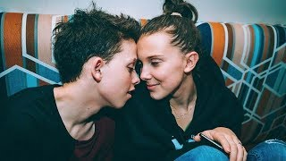 Download Millie Bobby Brown & Jacob Sartorius Get VERY Public About Their Love for Valentine's Day Video