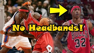 Download The Truth Behind The Chicago Bulls BANNING Headbands! Video