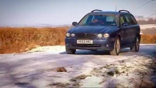 Download X Type in Snow - Top Gear - BBC autos Video