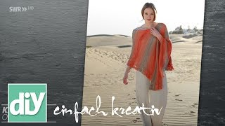 Download Sommerlicher Poncho | DIY einfach kreativ Video