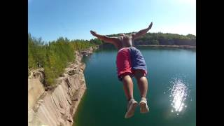 Download Cliff Jumping & High Diving Extreme Suomi Finland 2015 full HD Video