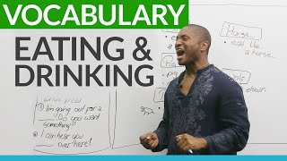 Download Vocabulary for EATING and DRINKING Video