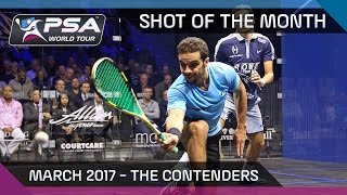 Download Squash: Shot of the Month - March 2017: The Contenders Video