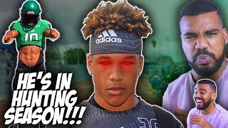 Download The *FASTEST* And *SCARIEST* Linebacker In High School!!!- Justin Flowe Highlights [Reaction] Video